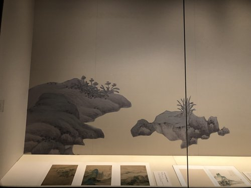Painting in the Four Wangs painting exhibition (Photo: Luo Yunzhou/ GT)