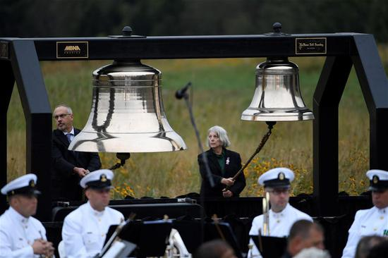 U.S. remembers 9/11 attacks with memorials held in New York, Washington, Pennsylvania