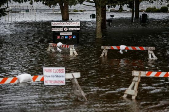 'Historic storm' lashes Carolinas with heavy rain, floods