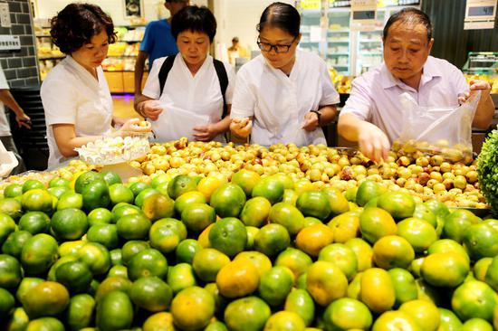 China's retail sales up 9 pct in August