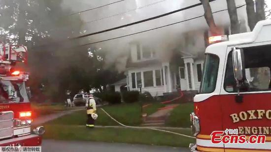 Dozens of fires, gas explosions erupt across Massachusetts