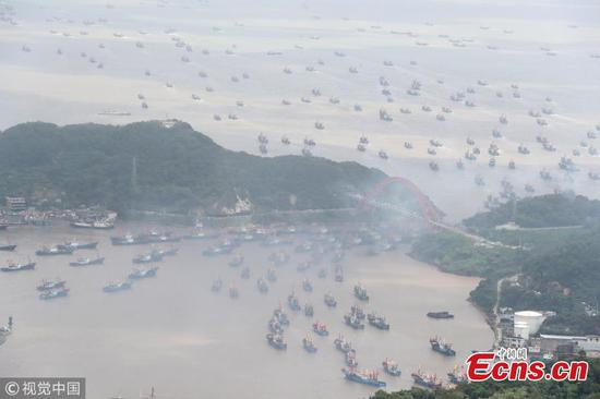 Fishing season begins in East China Sea