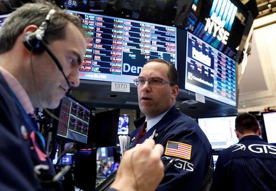 U.S. stocks fall as tech stocks drop amid trade fears