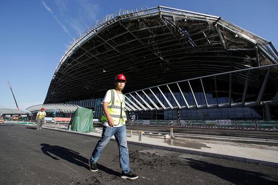 Beijing Daxing airport boosts aviation