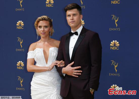 In pictures: Stars at 2018 Emmy Awards