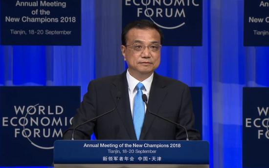 Premier Li vows to safeguard multilateralism, oppose unilateralism