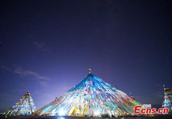 Chaka Lake declared China��s best venue for night star photography