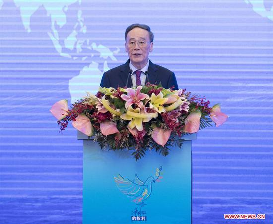 China reiterates peaceful development ahead of world peace day