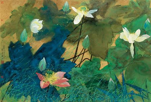 Late artist's work donated to Tsinghua University
