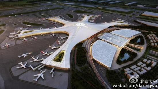 One hour international transfer at Beijing new airport