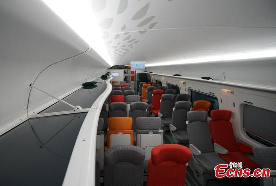 An early look at Hong Kong high-speed trains