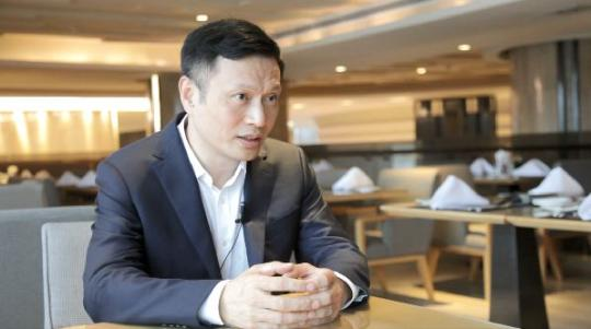 Chen Lei, CEO of Xunlei Ltd, a Chinese cloud-based acceleration technology company. (Photo by Lin Siyu/chinadaily.com.cn)