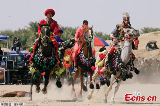 7th century battle re-enacted in Iraqi city