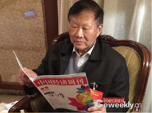 Railway expert Wang Mengshu, a member of the Chinese Academy of Engineering. (File photo/China economic weekly)