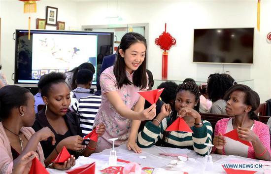 非洲孔子学院庆祝即将到来的中秋佳节