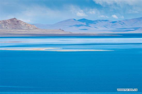 水果机西藏自治区阿里扎里纳姆科湖风光