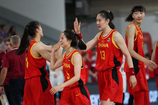Vital win for China in 1st game of FIBA Women's Basketball World Cup