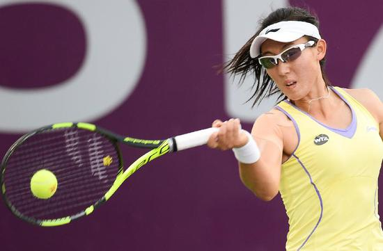 Chinese wildcard Zheng Saisai takes out American qualifier in Wuhan Open 1st round