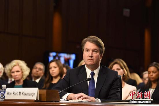 Brett Kavanaugh (File Photo/Chinanews.com)