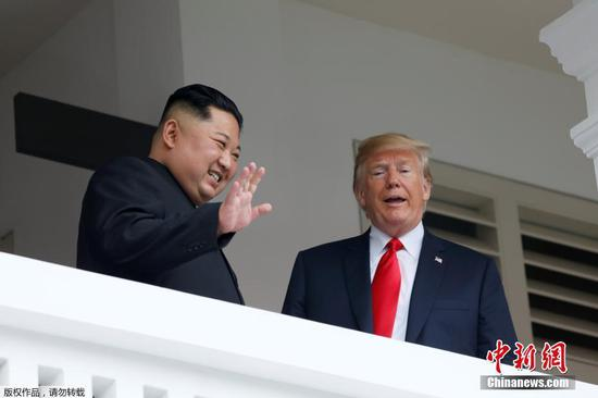 Trump says possible to meet DPRK's Kim