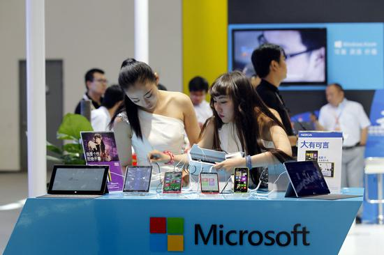 Microsoft Surface PCs get China debut