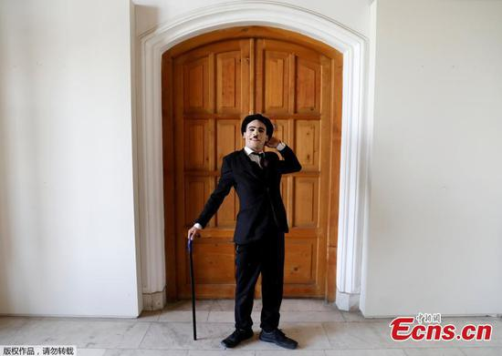 Afghanistan's Charlie Chaplin says he aims to make people smile, forget grief