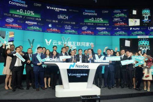 China's Xiaomi-backed Viomi Technology debuts on Nasdaq