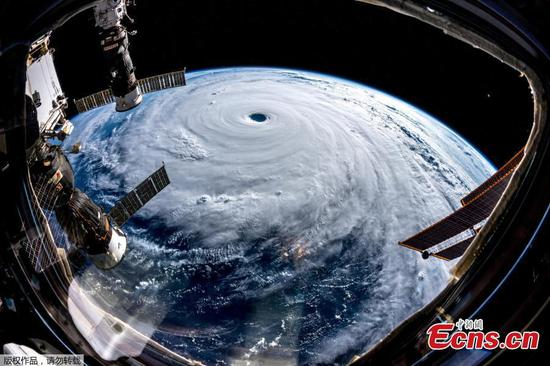 Images from space show Typhoon Trami heading for Japan