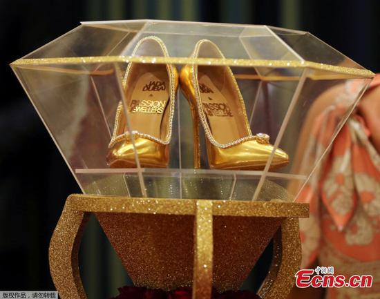 World's most expensive shoes, $17 million, on display in Dubai