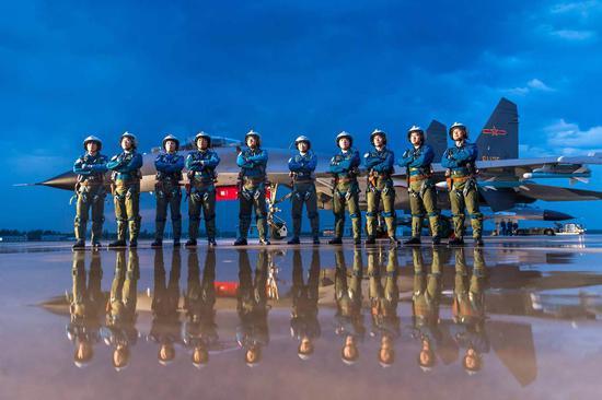 New measures reinforce combat readiness of elite squadron