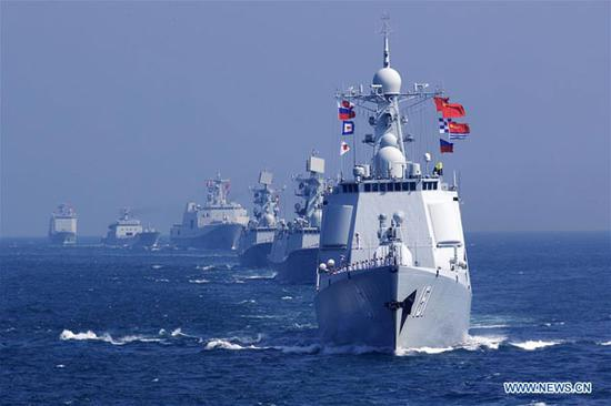 China's participation in Russian drills contributing to regional peace: spokesperson
