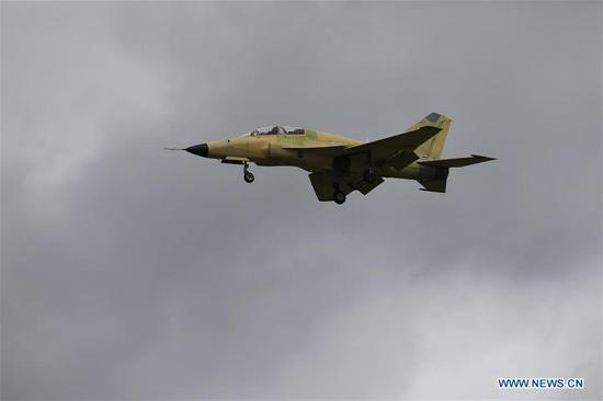 New combat aircraft for export makes debut flight