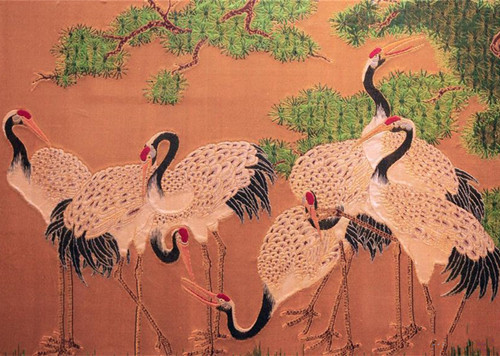 Yun brocade, traditional Chinese silk brocade made in Nanjing