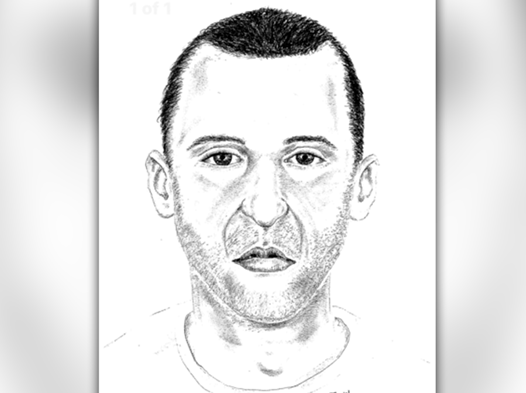 A sketch of the suspect revealed by Dallas Police Department.[File Photo: Dallas Police Department]