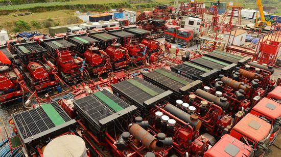 China's first shale gas field output exceeds 20 billion cubic meters