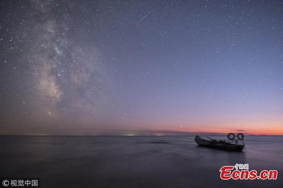 Kaixing Lake -- a favorite spot for star-gazers
