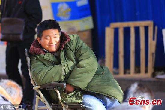 Temperatures drop by 8 degrees centigrade in Harbin