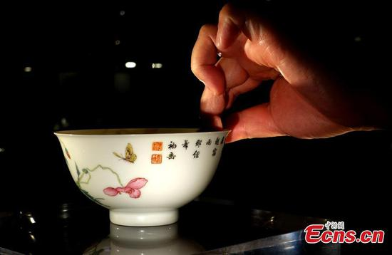 Ancient vase, bowl sold for millions at Sotheby's Hong Kong