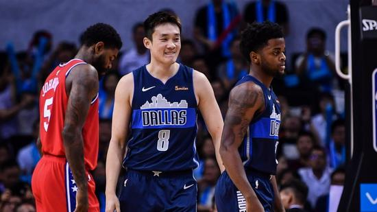 NBA outfit Dallas Mavericks offer China's Ding contract