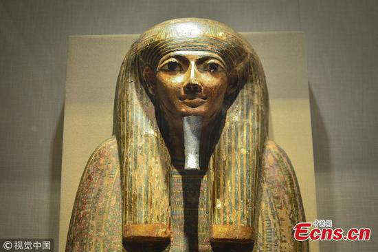 Cultural relics of Ancient Egypt on display in Zhejiang