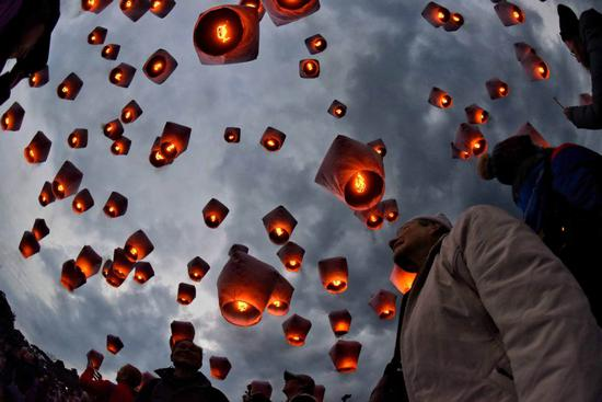 Innovation could provide a brighter future for Taiwan's sky lanterns