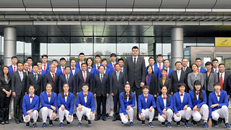 Chinese basketball team plays friendly match in Pyongyang