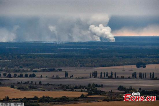 Ukraine suspects sabotage after ammo depot explosions