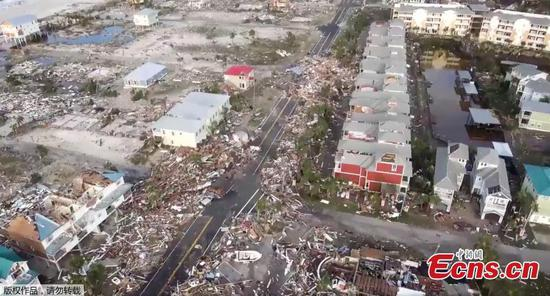 Hurricane Michael rips apart Florida towns
