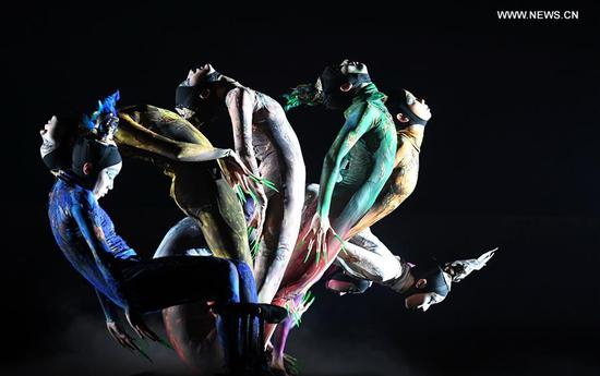 Dance performance 'The Rite of Spring' staged in Kunming