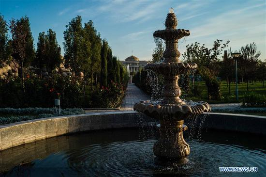 Scenery of Dushanbe in Tajikistan