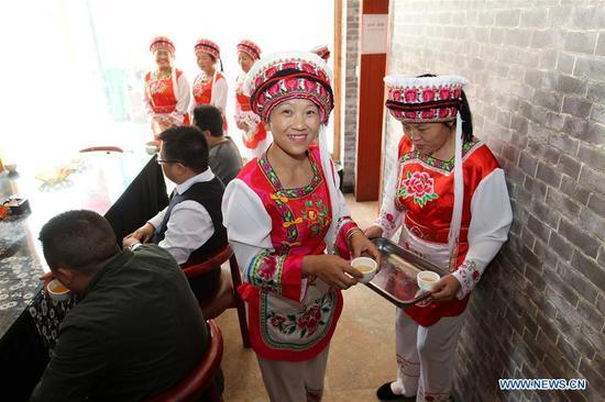 """""""三碗茶"""":白族的欢迎传统"""