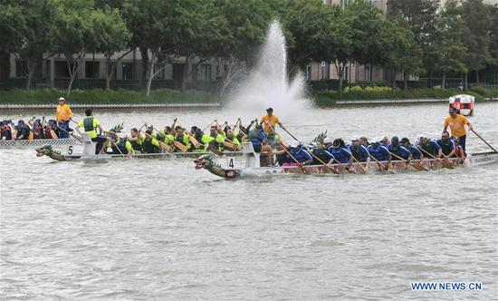15th Gulf Coast Int'l Dragon Boat Regatta kicks off in Houston, Texas