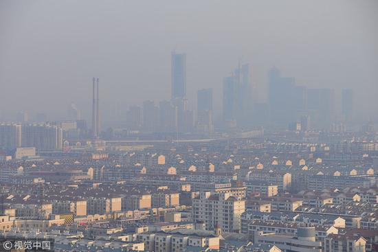 Adverse conditions behind pollution in Beijing-Tianjin-Hebei region