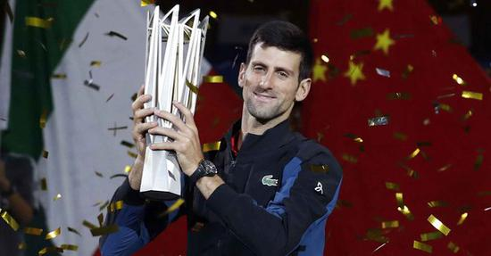 Djokovoic storms to fourth Shanghai Masters title